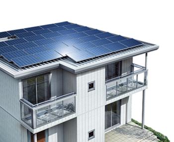 スマートハイムの太陽光発電